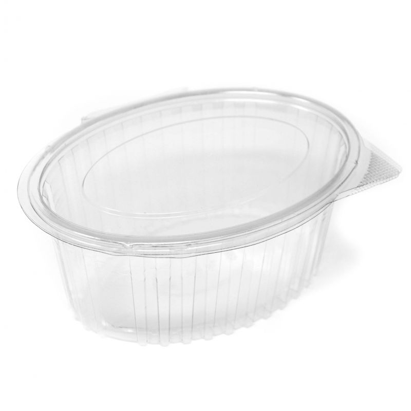 Oval Container with lid 500 ml
