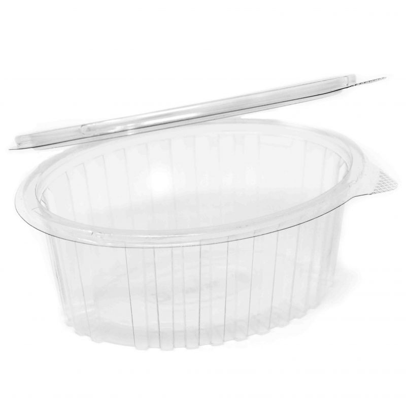 Oval Container with lid 750 ml