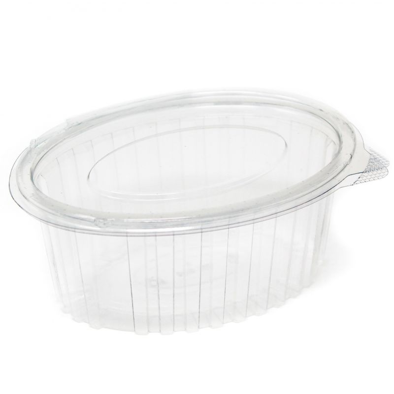 Oval Container with lid 1000 ml