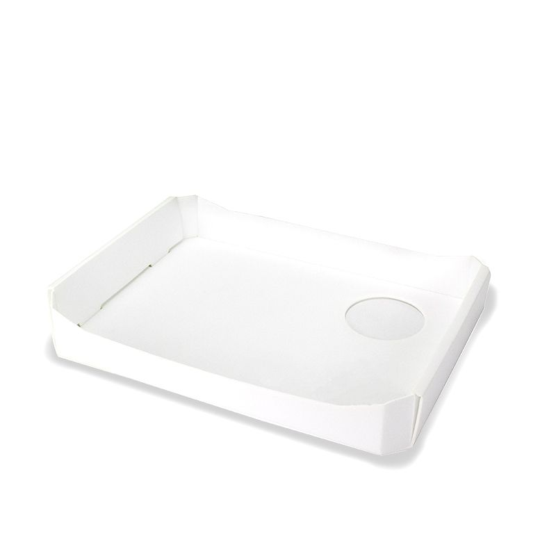 Vassoi degustazione Air-Box con foro - Neutri