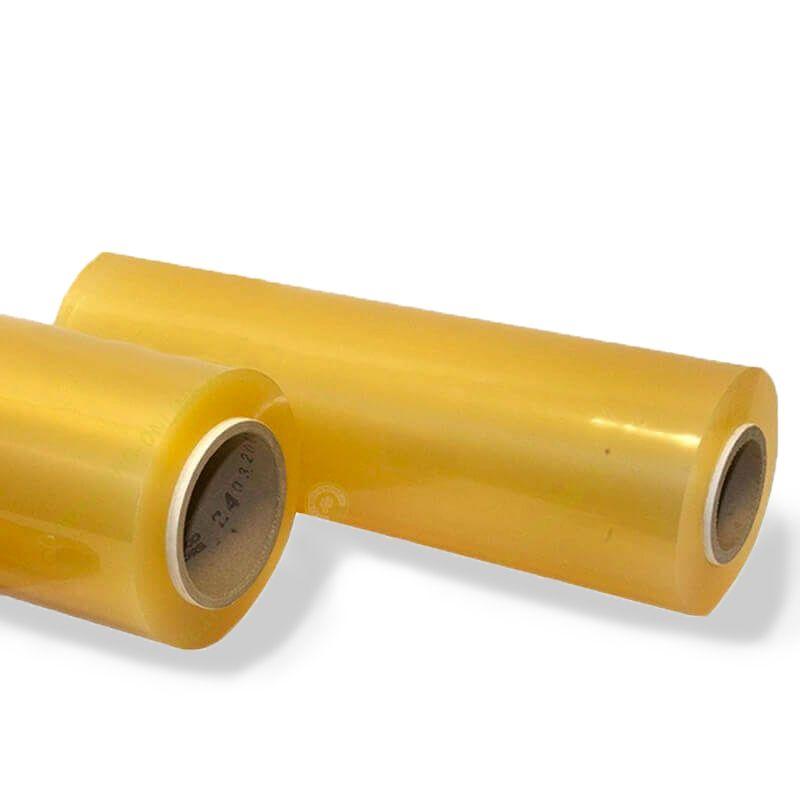 Bobina film in PVC estensibile 10 my - 450 mm