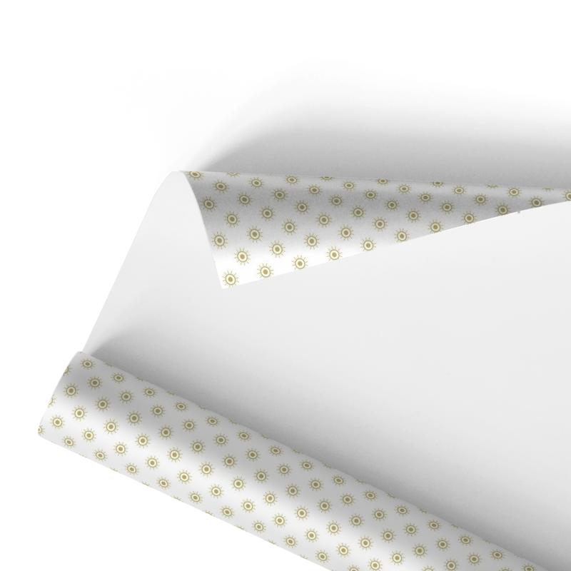 Paper gold starlets (100x75cm) - Neutral