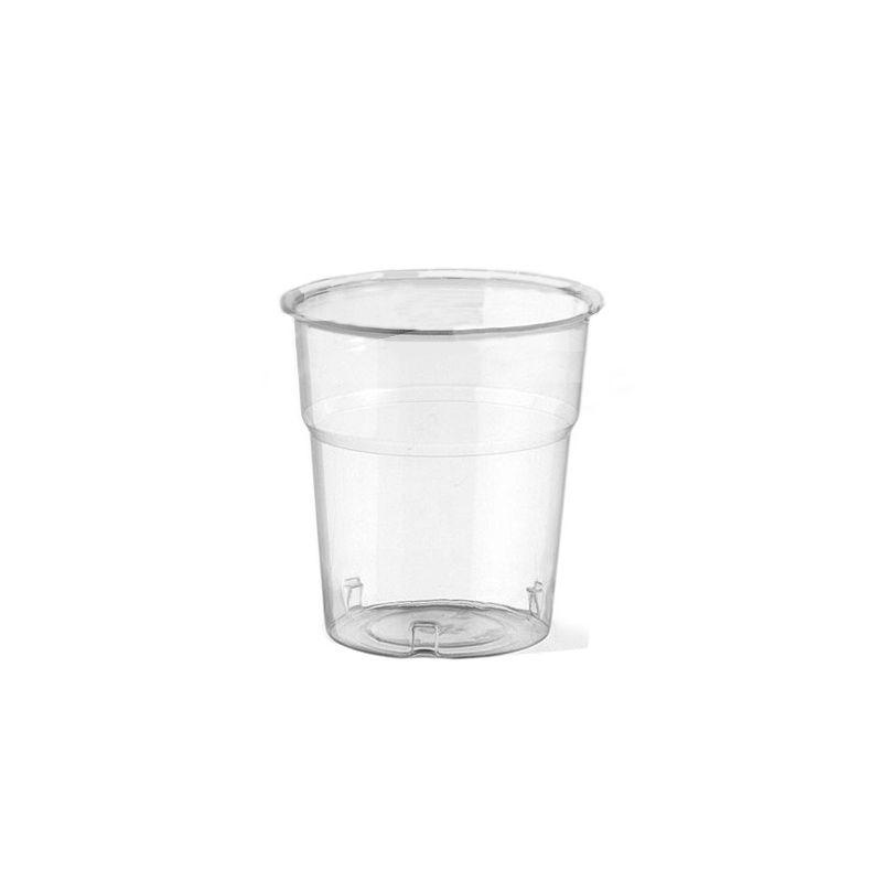 Clear Plastic Cups 100 cc - Neutral