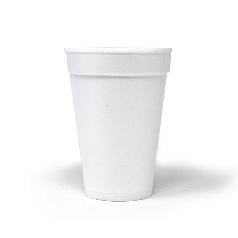 Polystyrene cups 300 cc - Neutral