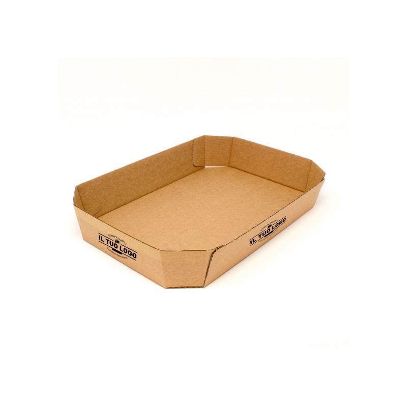 Vassoi in Cartoncino per alimentiP.11 Personalizzabili