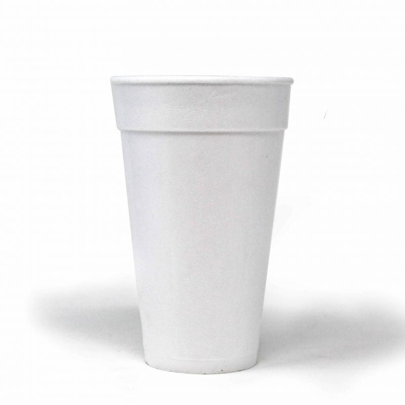Polystyrene cups 350 cc - Neutral