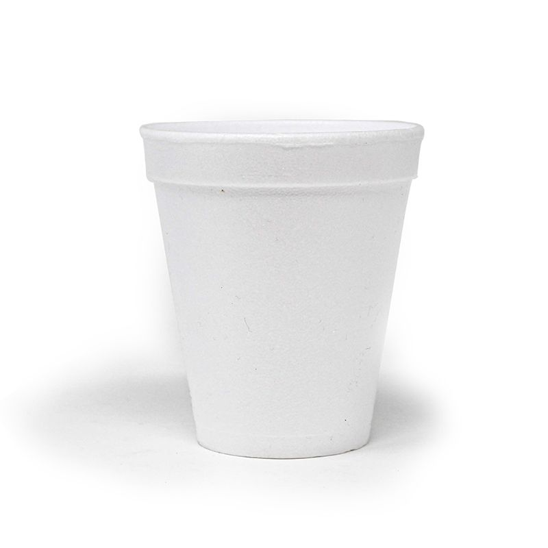 Styrofoam cups 200 cc - Neutral