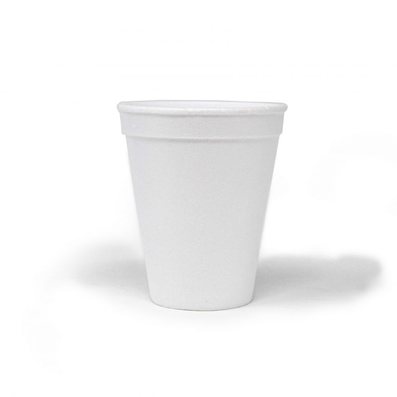 Polystyrene cups 250 cc - Neutral