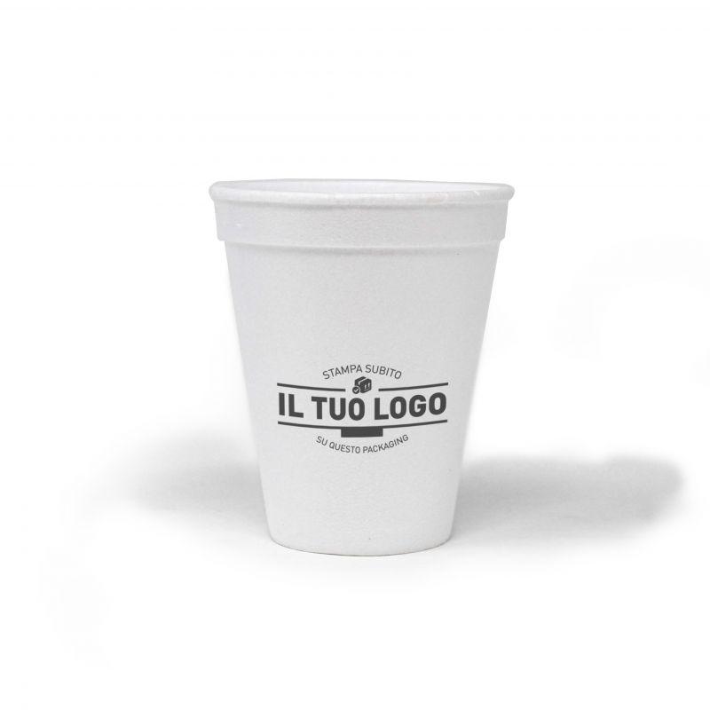 Bicchieri da cappuccino polistirolo  237 cc