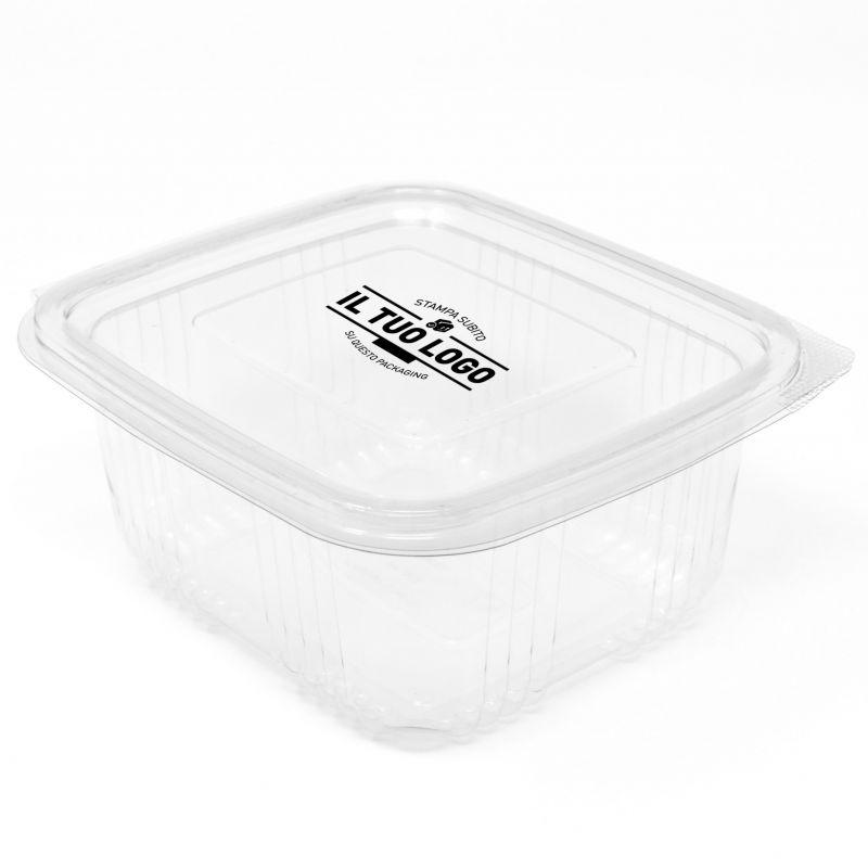 Rectangular Container 375 ml Customized