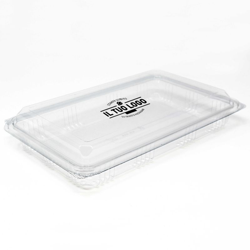 Rectangular Container 160x247x45 mm (500 gr) Customized