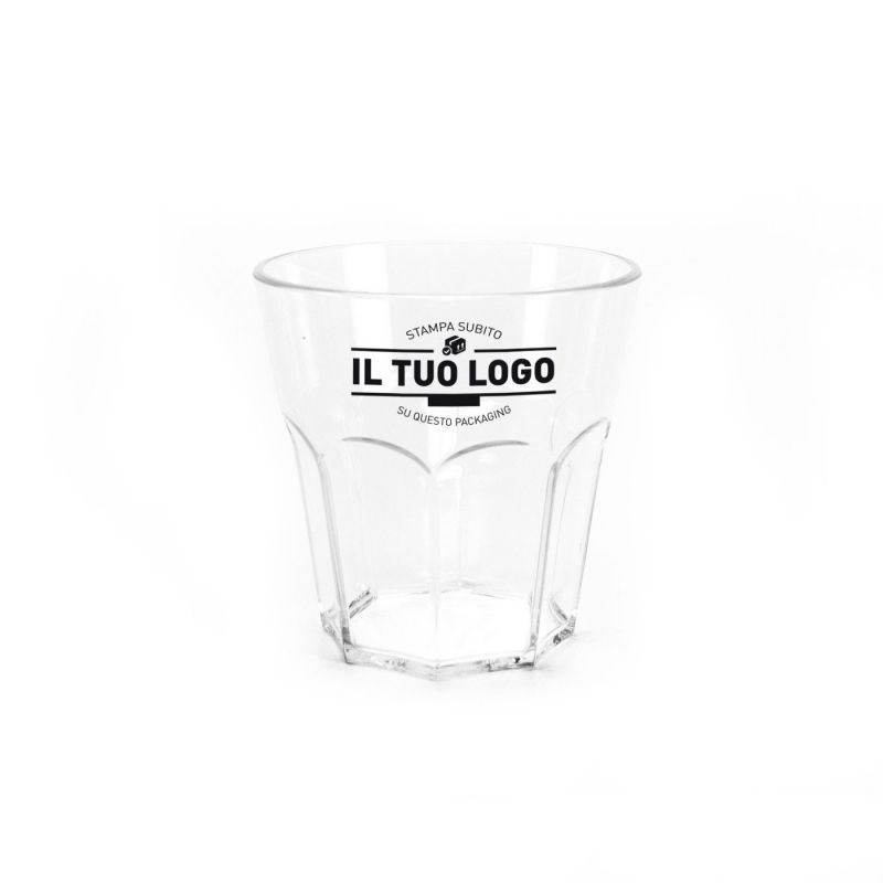 Bicchieri Rigidi Infrangibili 290 cc Rock