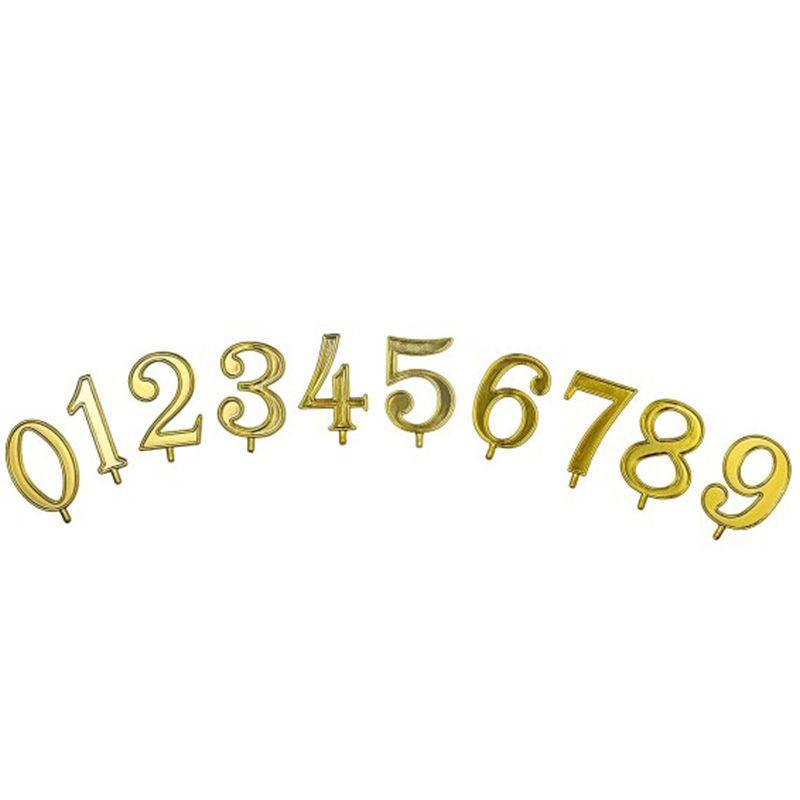 Numeri oro da 0 a 9