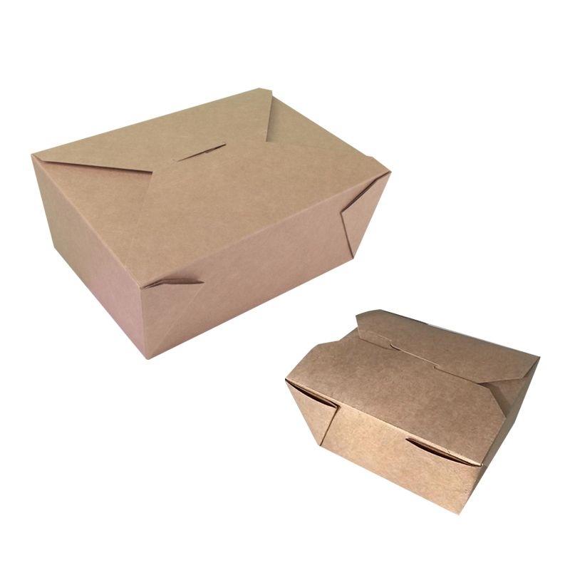 Box lunch 8 avana  [17,5 x 14 x 6,5h.] - Neutro