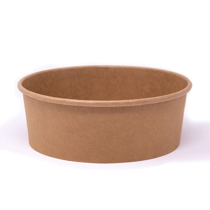 Round cardboard bowls 1300 ml Not personalized