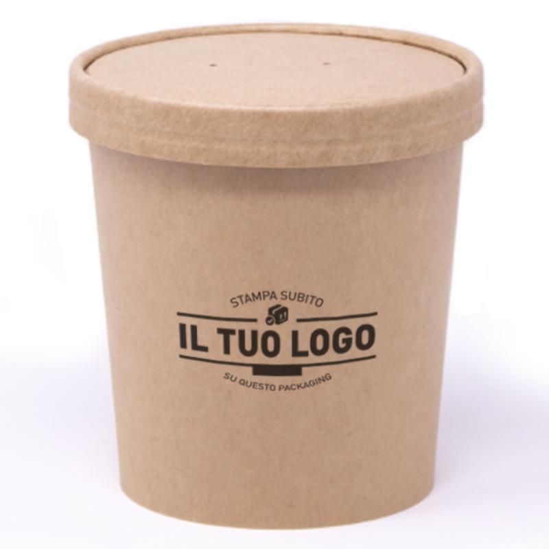 barattolo vaschetta gelato da personalizzare
