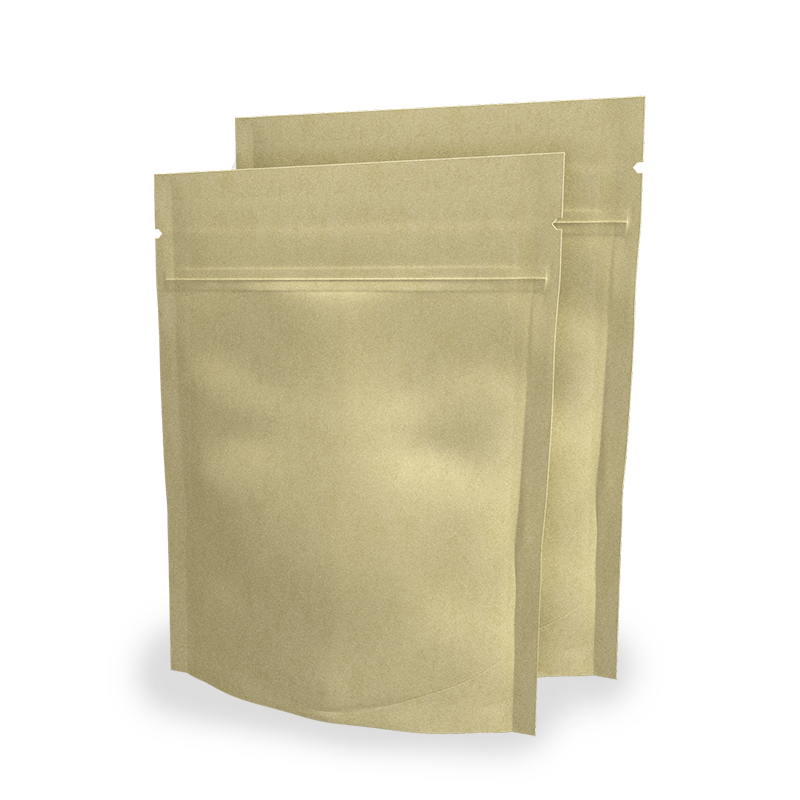 Chamois Paper Doypack Envelopes 16x21 cm with zip Neutral