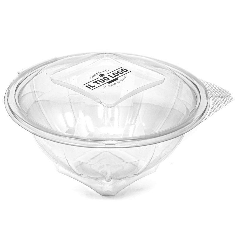 Ciotole ermetiche modello mx per insalate da personalizzare 1000 cc