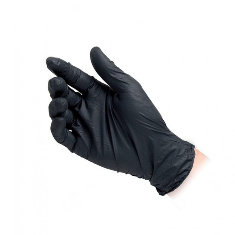 Black Nitril gloves - Large