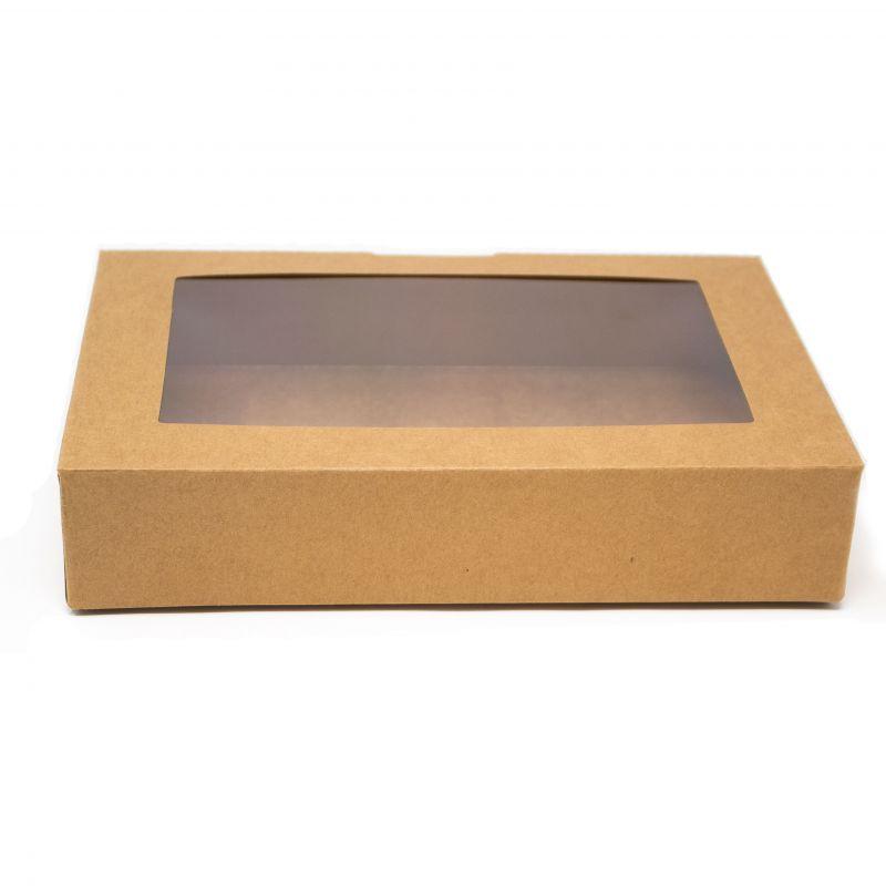 Box Sushi Large 21,5x14,2x4,5 cm Brown