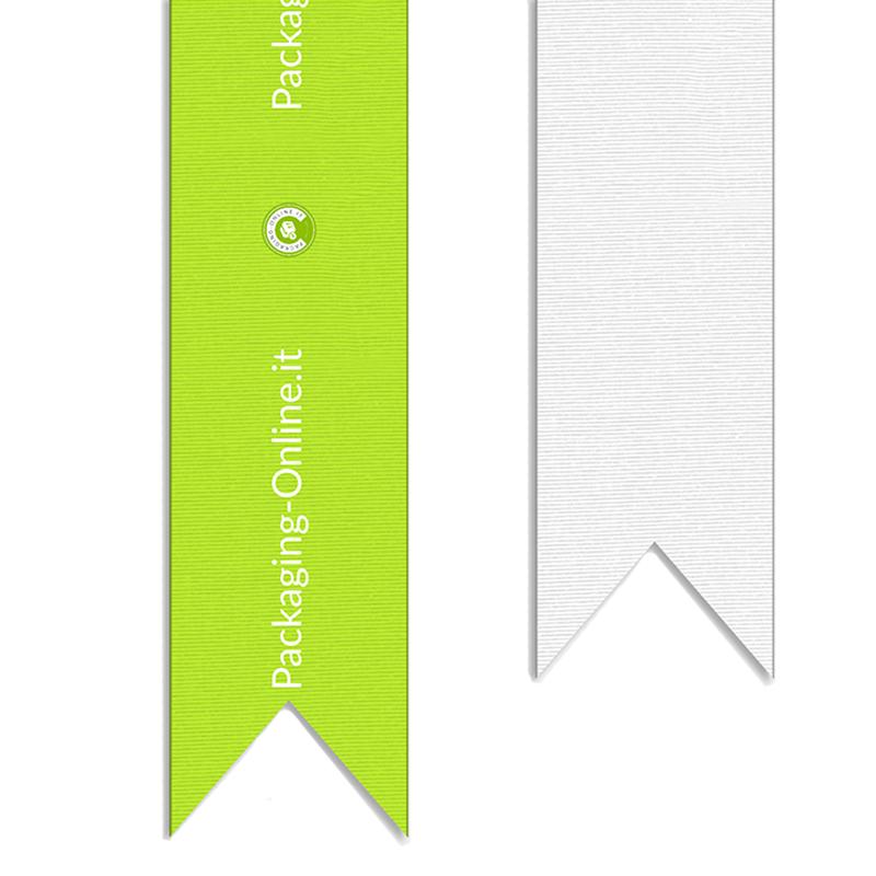 Nastro decorativo in gros grain 4 cm con stampa sublimatica 4 colori