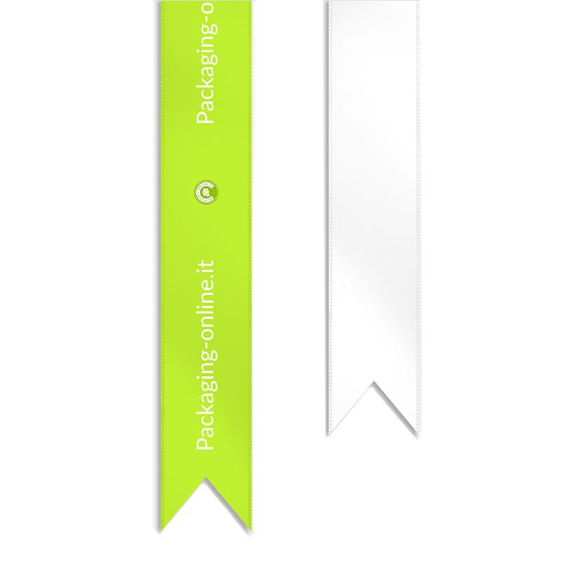 Decorative cotton tape 2,5 cm in 4-color sublimation printing