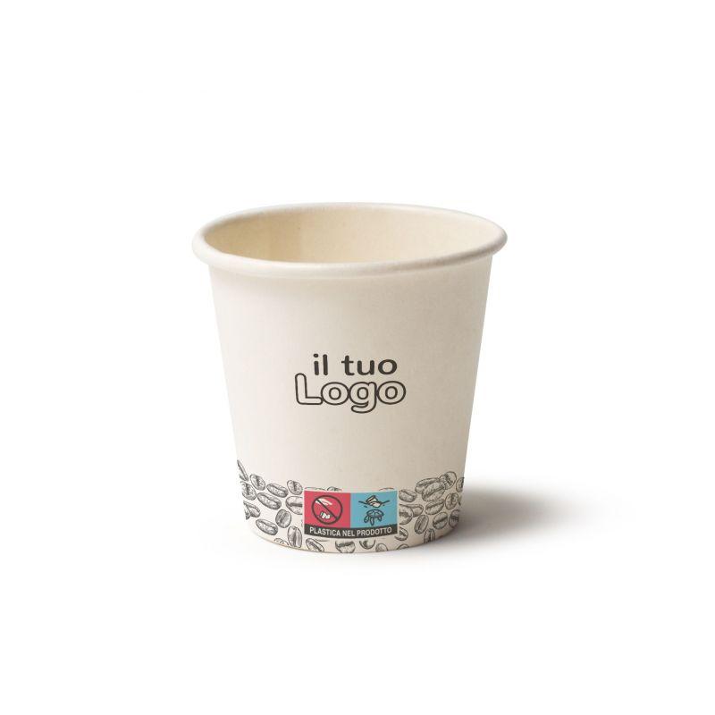 Bicchieri Cartoncino caffè 70 cc chicco - Tipo B70