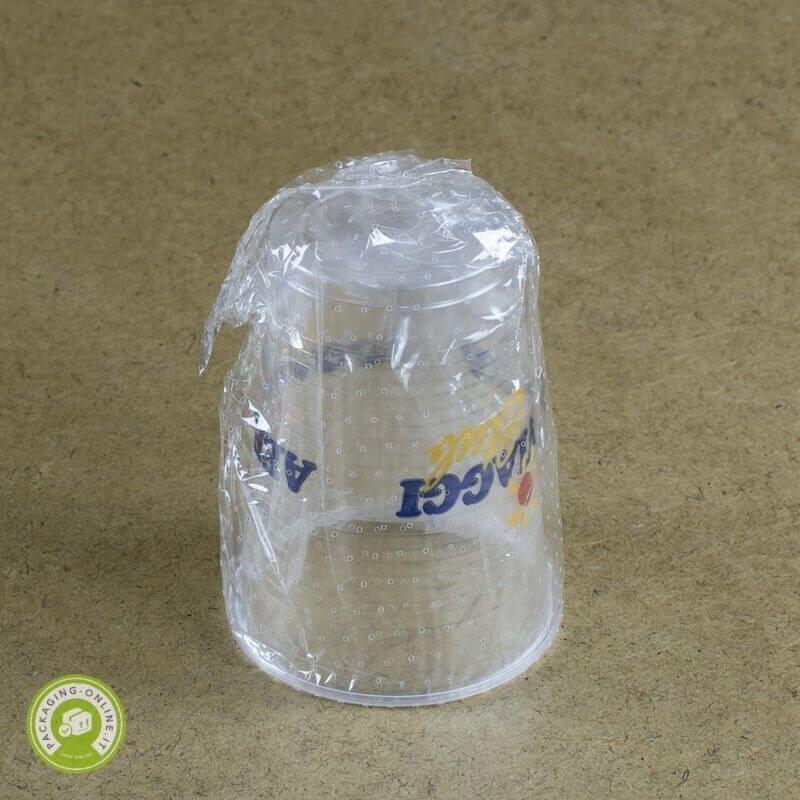 Bicchiere Trasparente 200cc. imbustato