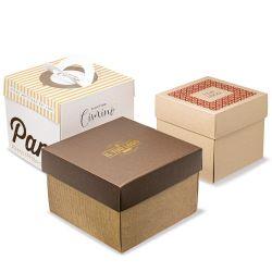 cardboard box for panettone
