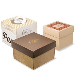 cardboard box for panettone