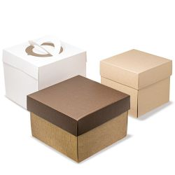 Not customized cardboard box for panettone