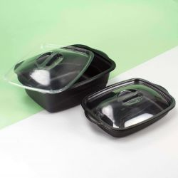 Take away hot food containers