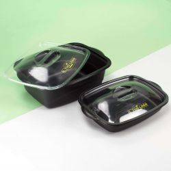 Containers for hot food