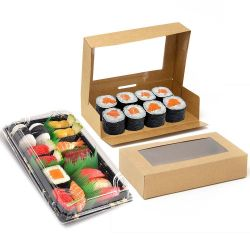 Sushi and sweeties boxes