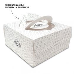 Cake boxes with window to customize