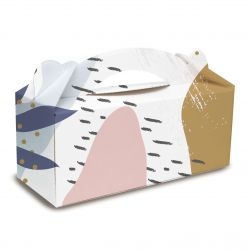 Boxes for cake roll to customize with your logo