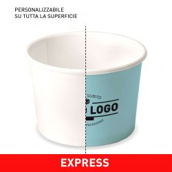 Ice cream Cup Custom design 4 colours - EXPRESS