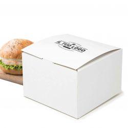 Boxes for hamburger and Hot Dog