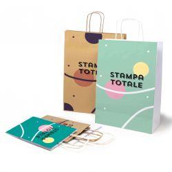 Shoppers in Carta Daily Stampa su tutta la superficie