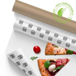 Customizable Compostable Oil-Resistant Paper