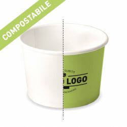 Compostable paper cups to customize