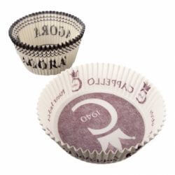 Round fluted baking cups