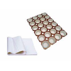 Baking pan and baking paper