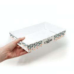 Customizable Cardboard Trays